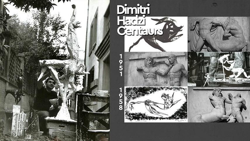 Dimitri Hadzi, Κένταυροι και Λαπίθες